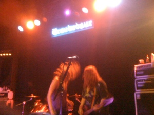 The Donnas @ the Troubadour, LA