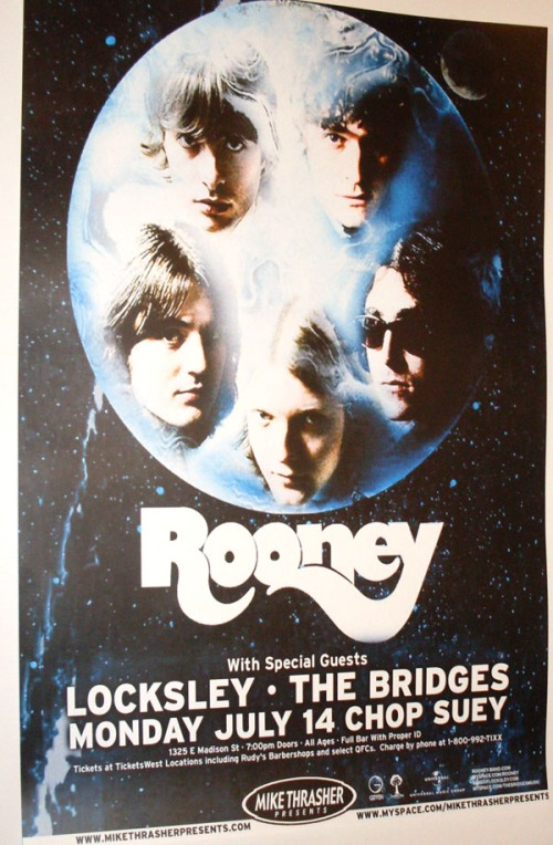 Rooney and The Bridges