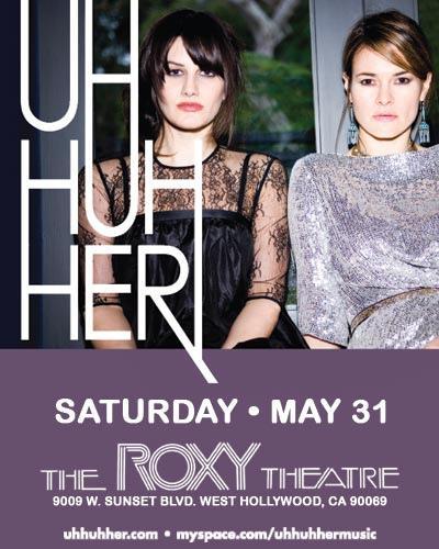 UHH Concert Poster